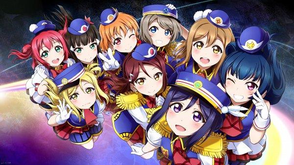 Tags: Anime, Pixiv Id 4220066, Love Live! Sunshine!!, Watanabe You, Kurosawa Ruby, Kurosawa Dia, Ohara Mari, Matsuura Kanan, Kunikida Hanamaru, Sakurauchi Riko, Tsushima Yoshiko, Takami Chika, A-ok