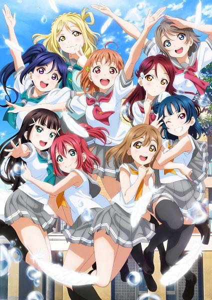 Tags: Anime, Murota Yuuhei, Sunrise (Studio), Love Live! Sunshine!!, Takami Chika, Watanabe You, Kurosawa Ruby, Kurosawa Dia, Ohara Mari, Matsuura Kanan, Kunikida Hanamaru, Sakurauchi Riko, Tsushima Yoshiko