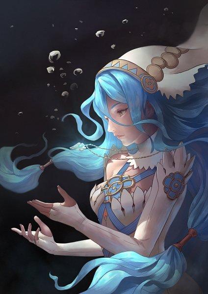 Tags: Anime, Azto Deus, Fire Emblem Heroes, Fire Emblem If, Aqua (Fire Emblem), Self Made, Azura (fire Emblem)