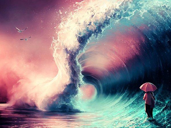 Tags: Anime, Aquasixio, Walking On Water