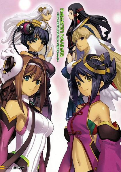 Tags: Anime, Nippon Ichi Software, Ar Tonelico II, Ar Tonelico, Shurelia, Jakuri, Misha Arsellec Lune, Chroche Latel Pastalie, Aurica Nestmile, Luca Truelywaath