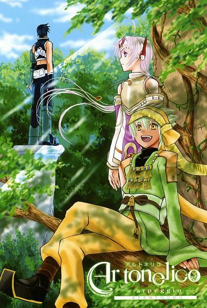 Tags: Anime, Nippon Ichi Software, Ar Tonelico, Scan, Manga Color