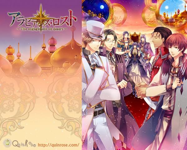 Arabians Lost ~The engagement on desert~ - QuinRose