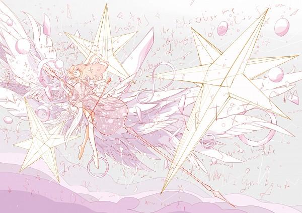 Tags: Anime, Arakawa (Artist), Surreal, Transparent Object, Slender, Transparent Musical Instrument, Detailed, White, Pixiv, Original