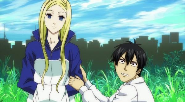 Tags: Anime, Arakawa Under the Bridge, Kou Ichinomiya, Nino (Arakawa), Screenshot