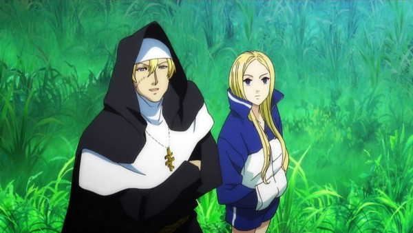 Tags: Anime, Arakawa Under the Bridge, Sister (Arakawa), Nino (Arakawa), Wallpaper, Screenshot