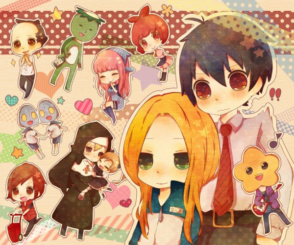 Tags: Anime, Miyuko, Arakawa Under the Bridge, Maria (Arakawa), Kappa (Arakawa), Sister (Arakawa), Last Samurai, Hoshi, Shiro (Arakawa), P-ko, Kou Ichinomiya, Nino (Arakawa), Stella (Arakawa)