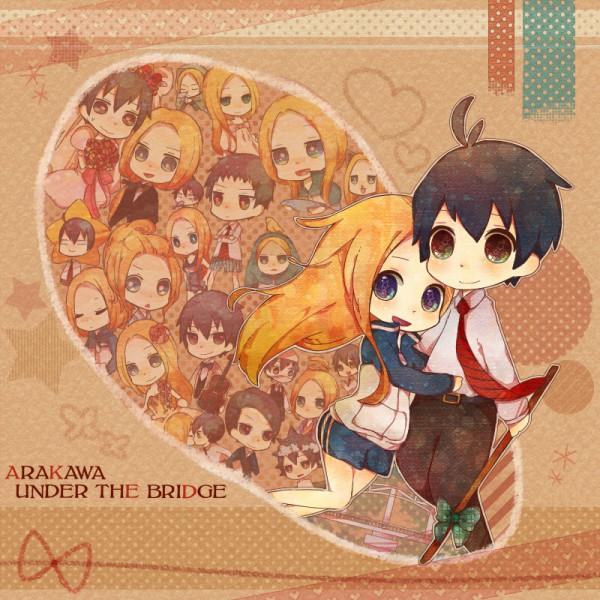 Tags: Anime, Miyuko, Arakawa Under the Bridge, Ichinomiya Kou, Nino (Arakawa), Pixiv