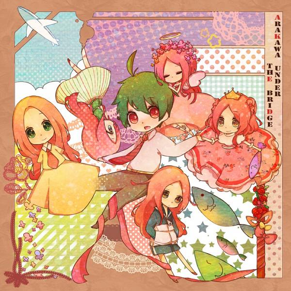 Tags: Anime, Miyuko, Arakawa Under the Bridge, Ichinomiya Kou, Nino (Arakawa), Cosmos vs Alien, Pixiv