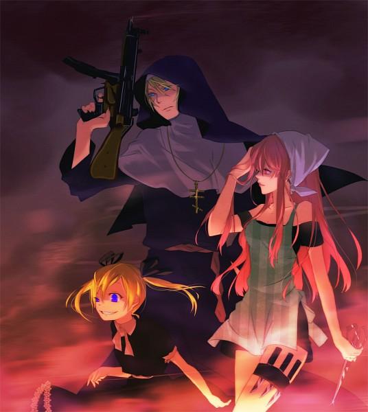 Tags: Anime, Arakawa Under the Bridge, Stella (Arakawa), Maria (Arakawa), Sister (Arakawa)