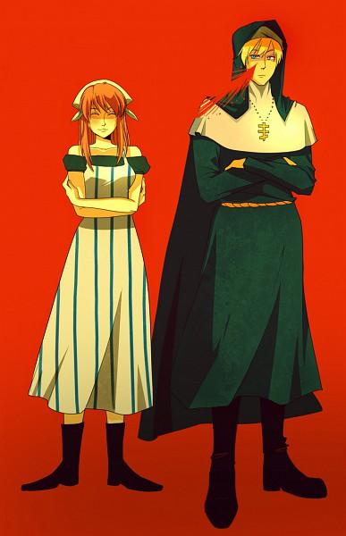 Tags: Anime, Pixiv Id 1693398, Arakawa Under the Bridge, Maria (Arakawa), Sister (Arakawa), Pixiv, Fanart