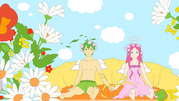 Tags: Anime, Arakawa Under the Bridge, Ichinomiya Kou, Nino (Arakawa), HD Wallpaper, Wallpaper, Venus to Jesus