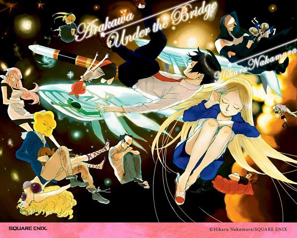 Tags: Anime, Arakawa Under the Bridge, Ichinomiya Kou, Stella (Arakawa), Billy (Arakawa), Maria (Arakawa), Jacqueline, Sister (Arakawa), Amazoness, Last Samurai, Hoshi, Shiro (Arakawa), P-ko
