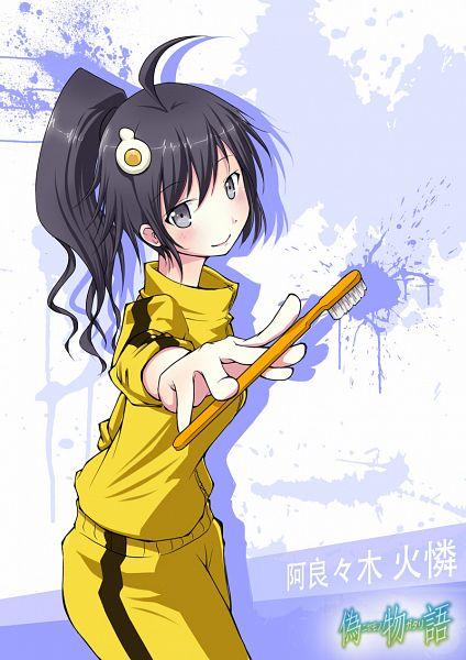 Tags: Anime, Pixiv Id 236529, Monogatari, Araragi Karen, Toothbrush