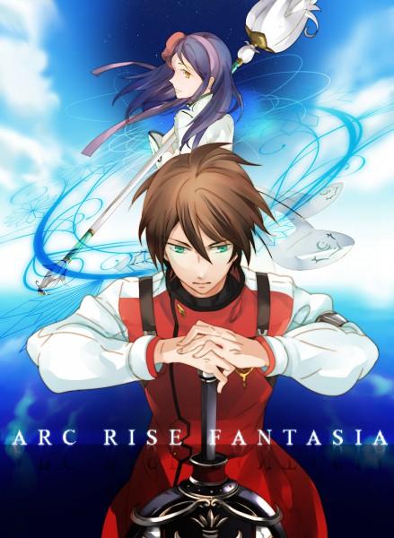 Tags: Anime, Arc Rise Fantasia, L'Arc Bright Lagoon, Ryfia