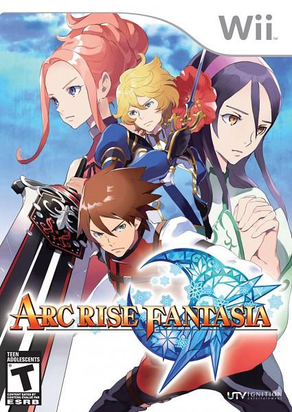 Tags: Anime, Arc Rise Fantasia, L'Arc Bright Lagoon, Adele Nevalinna, Ryfia