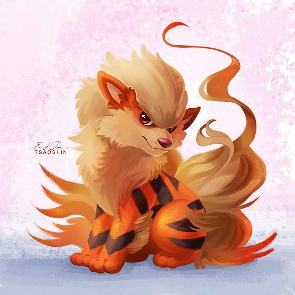 Tags: Anime, TsaoShin, Pokémon, Arcanine, PNG Conversion, deviantART, Fanart From DeviantART, Fanart