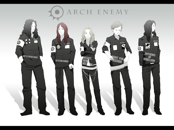 Tags: Anime, Arch Enemy, Self Hug