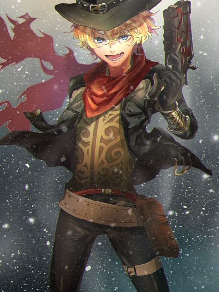 Tags: Anime, Pixiv Id 11376294, Fate/Grand Order, Archer (Billy the Kid), Pixiv, Fanart, Fanart From Pixiv