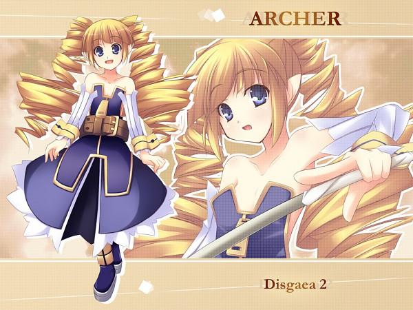 Tags: Anime, Shimakaze, Nippon Ichi Software, Makai Senki Disgaea, Archer (Disgaea)