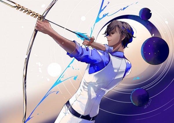 Tags: Anime, Pixiv Id 4118627, Fate/Grand Order, Archer (Fate/Grand Order), Agni Gandiva, Fanart, Fanart From Pixiv, Pixiv