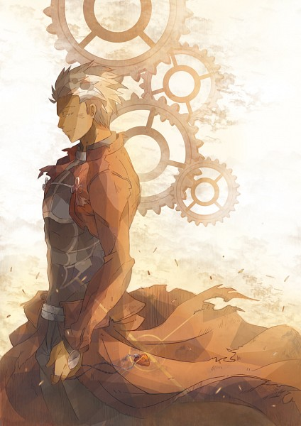 Tags: Anime, Pixiv Id 1345794, Fate/stay night, Archer (Fate/stay night), Fanart, Fanart From Pixiv, Pixiv, Mobile Wallpaper