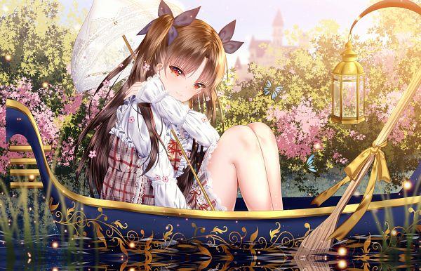 Tags: Anime, Pixiv Id 20778107, Fate/Grand Order, Tohsaka Rin, Archer (Ishtar), Fanart From Pixiv, Pixiv, Fanart