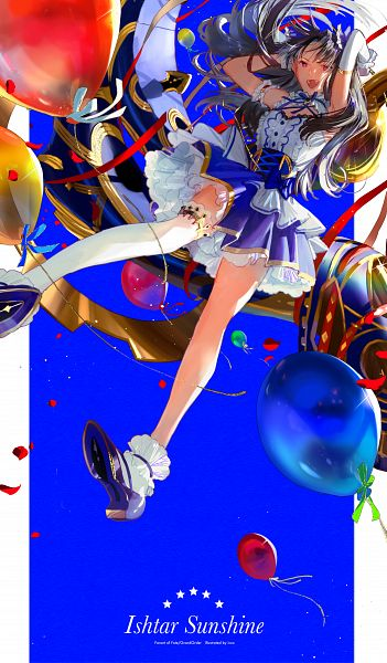 Tags: Anime, Pixiv Id 10241552, Fate/Grand Order, Archer (Ishtar), Tohsaka Rin, Maanna, Fanart From Pixiv, Pixiv, Fanart