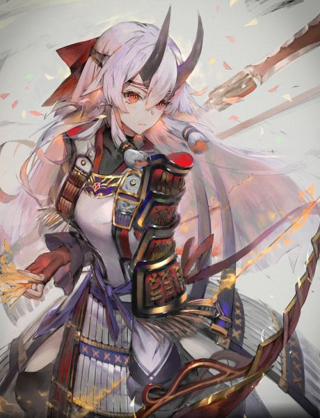Tags: Anime, Pixiv Id 1193139, Fate/Grand Order, Archer Inferno, Japanese Armor