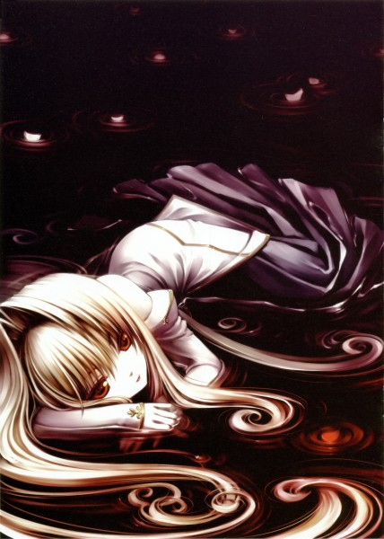 Tags: Anime, Sayori, TYPE-MOON, NEKO WORKs 01, Tsukihime, Arcueid Brunestud, Archetype Earth, Pixiv, Mobile Wallpaper