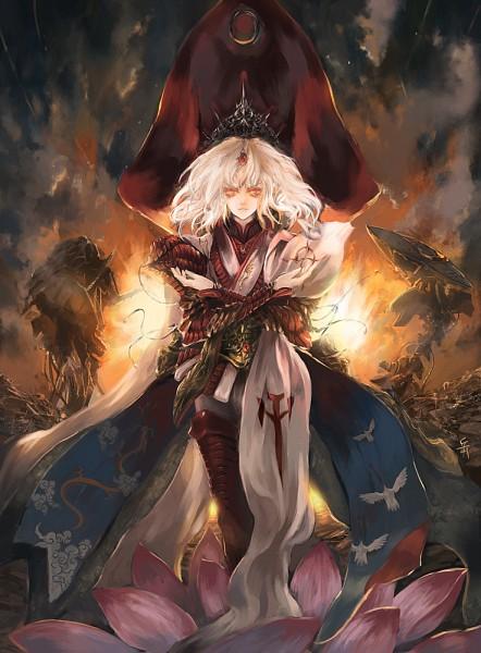 Tags: Anime, Archlich, The Five Star Stories, Amaterasu no Mikado, Pixiv, Original