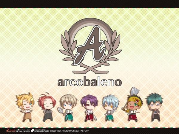 Tags: Anime, IDEA FACTORY, Arcobaleno, Nikichi Saotome, Haruto Nasu, Kaname Murota, Futa Katsura, Ryunosuke Komatsu, Wallpaper, Official Art, Official Wallpaper