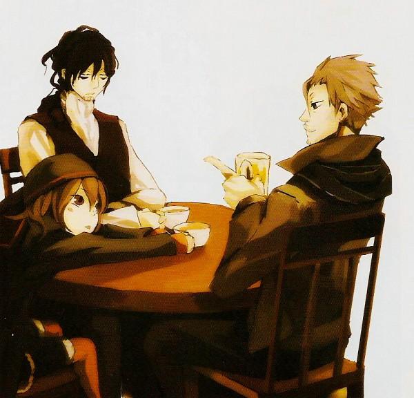 Tags: Anime, Tagura Tohru, Are You Alice?, Dormouse (are You Alice), March Hare (Are You Alice), Mad Hatter (Are You Alice)