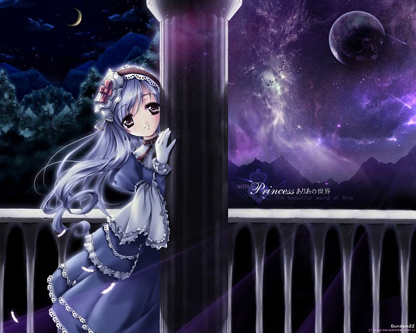 Tags: Anime, Sister Princess, Aria (Sister Princess), Wallpaper