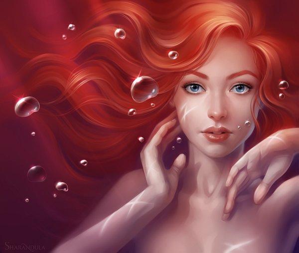 Tags: Anime, Sharandula, Little Mermaid, Little Mermaid (Disney), Ariel, deviantART, Fanart, Disney