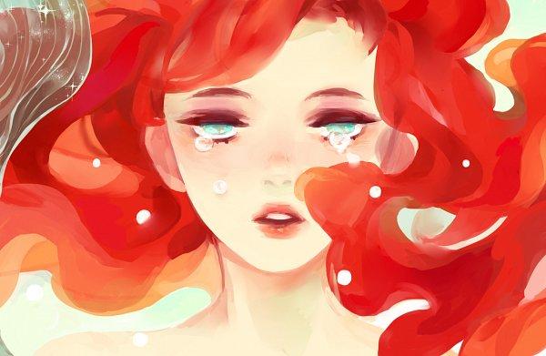 Tags: Anime, Kaytseki, Little Mermaid, Little Mermaid (Disney), Ariel, Disney