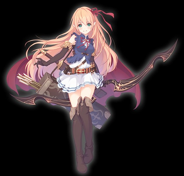 Tags: Anime, Weshika, Cygames, Princess Connect! Re:Dive, Arisa (Shadowverse), Quiver, Official Art