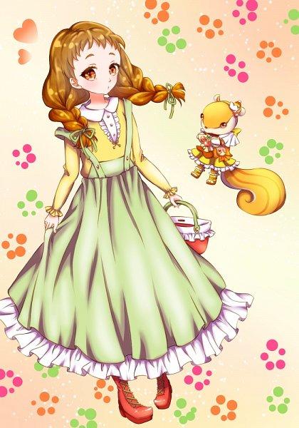 Tags: Anime, Pixiv Id 2024783, Kirakira☆Precure a la Mode, Arisugawa Himari, Cure Custard (Cosplay), Fanart, Fanart From Pixiv, Pixiv