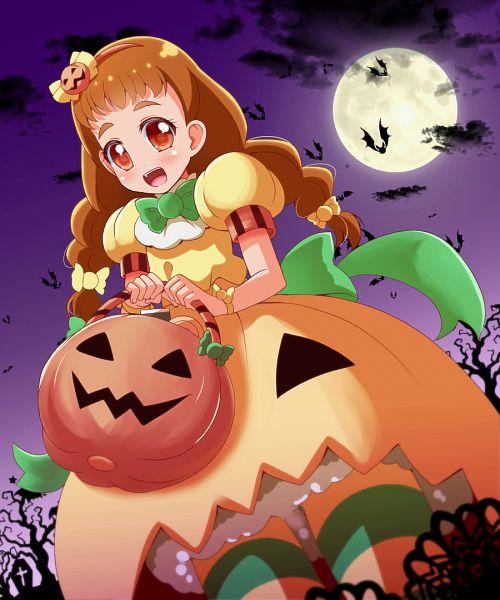 Tags: Anime, Pixiv Id 1046271, Kirakira☆Precure a la Mode, Arisugawa Himari, Pumpkin Costume, Pixiv, Fanart, Fanart From Pixiv