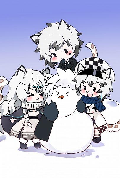 Tags: Anime, Moemoe3345, Arknights, Cliffheart, Pramanix, Silverash