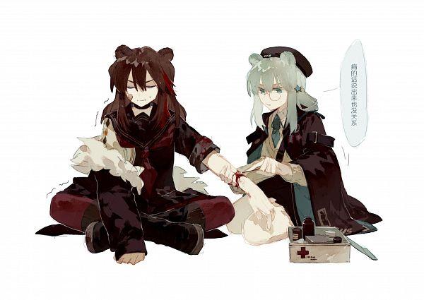 Tags: Anime, Pixiv Id 7752143, Arknights, Istina, Zima (Arknights)