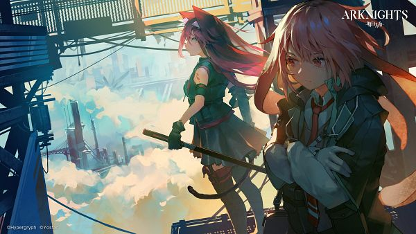 Tags: Anime, Pixiv Id 31430204, HyperGryph, Arknights, Ansel, Melantha, Official Art