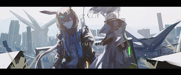 Tags: Anime, Pixiv Id 35562628, Arknights, Amiya, Kal'tsit, Fanart, Fanart From Pixiv, Pixiv