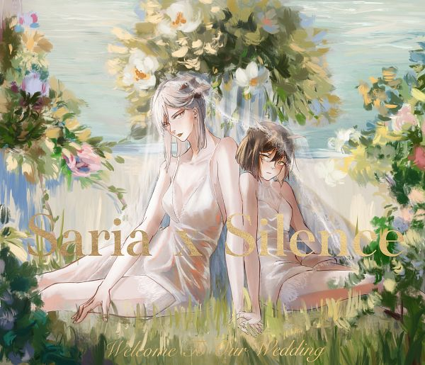 Tags: Anime, Pixiv Id 19808774, Arknights, Silence (Arknights), Saria (Arknights)