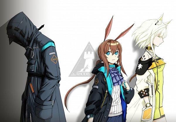 Tags: Anime, Pixiv Id 4244391, Arknights, Doctor (Arknights), Kal'tsit, Amiya, Fanart From Pixiv, Pixiv, Fanart