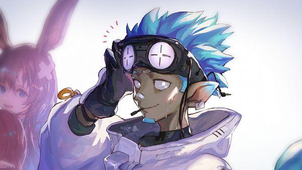 Tags: Anime, Pixiv Id 4355382, Arknights, Amiya, Ethan (Arknights)
