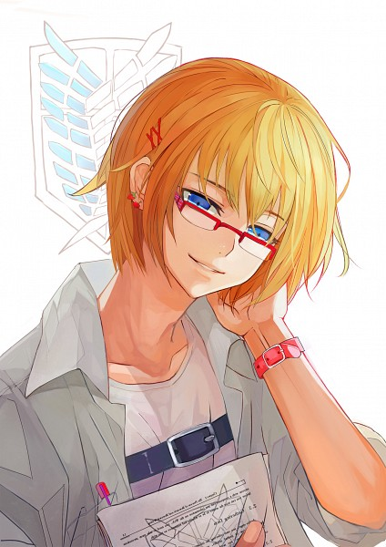 Tags: Anime, Object Spring, Attack on Titan, Armin Arlert, Mobile Wallpaper, Pixiv, Fanart, Fanart From Pixiv