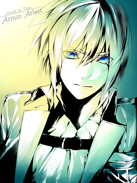 Tags: Anime, Pixiv Id 1703851, Attack on Titan, Armin Arlert, Emblem, Fanart From Pixiv, Pixiv, Fanart