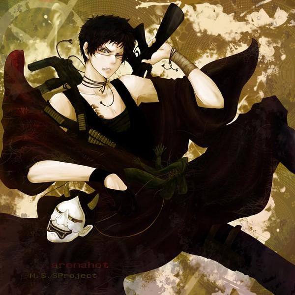 Tags: Anime, Pixiv Id 2726830, Aromahot, Oni Mask, Text: Character Group Name, Nico Nico Jikkyou, Pixiv, M.S.S Project