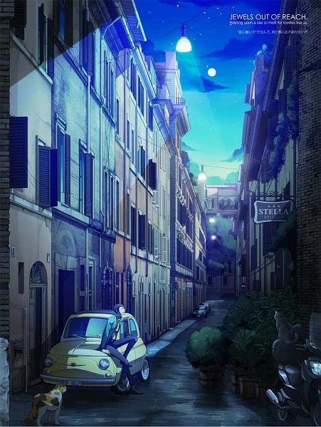 Tags: Anime, Nasubi (w.c.s), Lupin III, Arsene Lupin III, Fanart, Pixiv